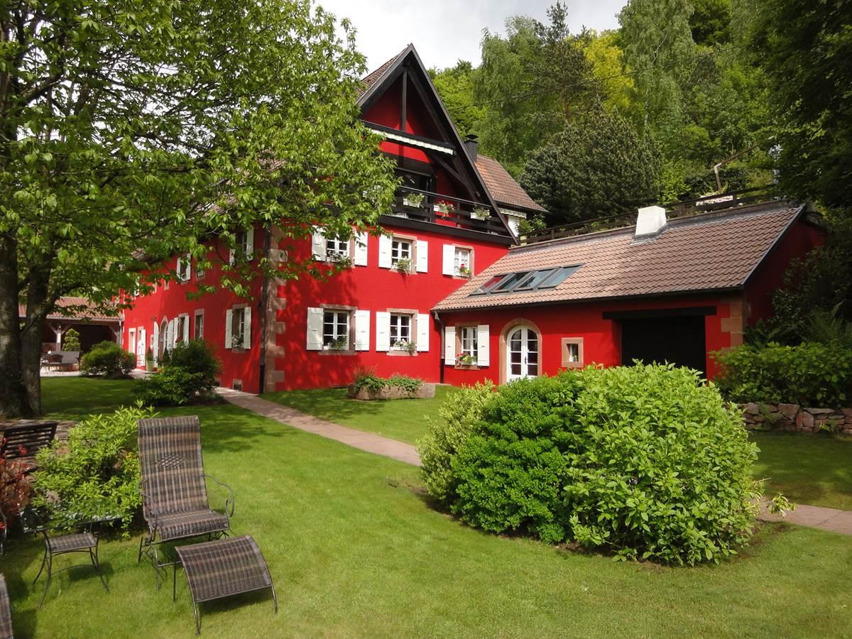 La Haute Grange Maison d'hôtes de Charme en Alsace , chez Margaret & Philippe KALK