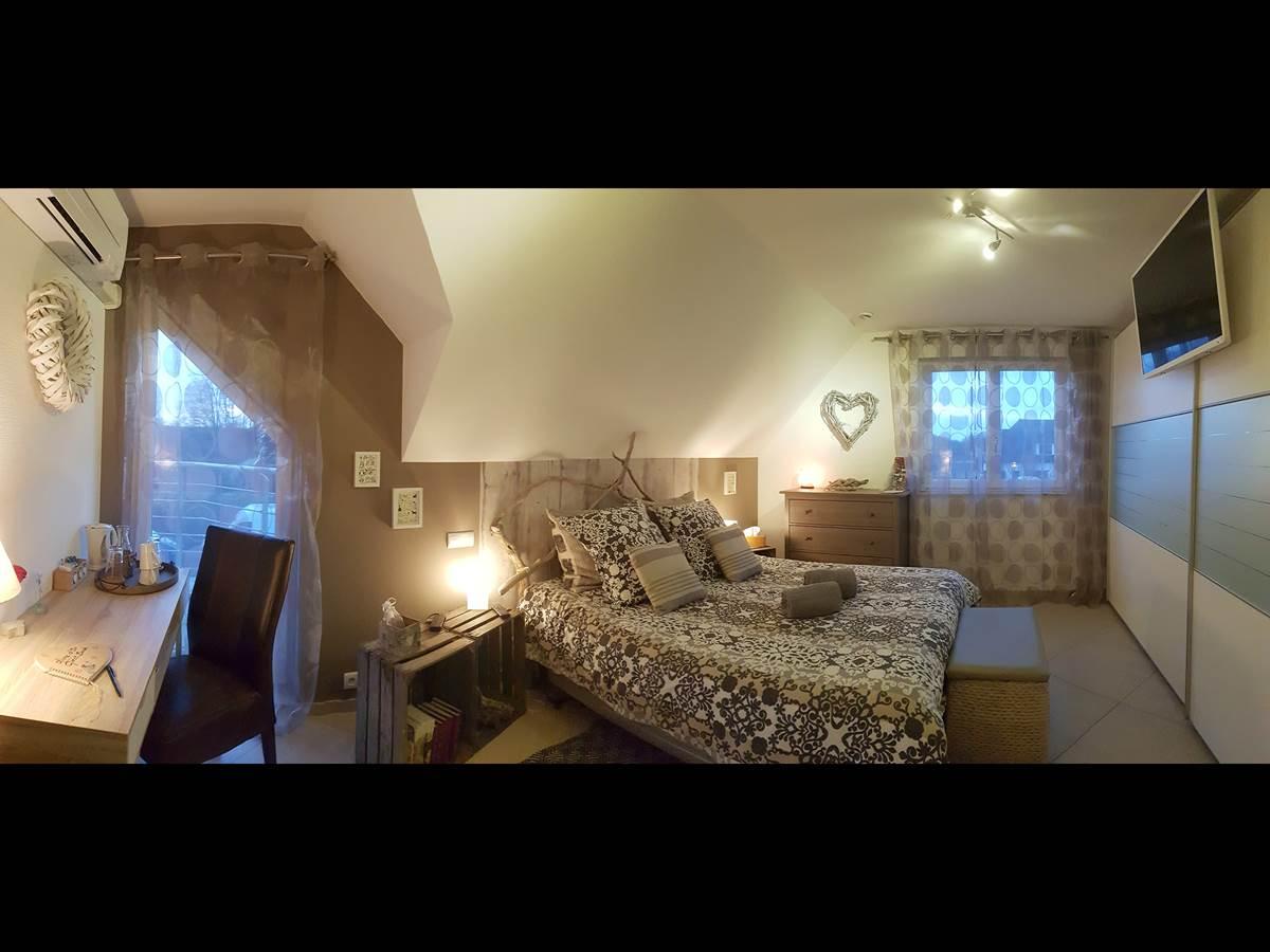 Chambre double  la villa esterel village-neuf airport basel