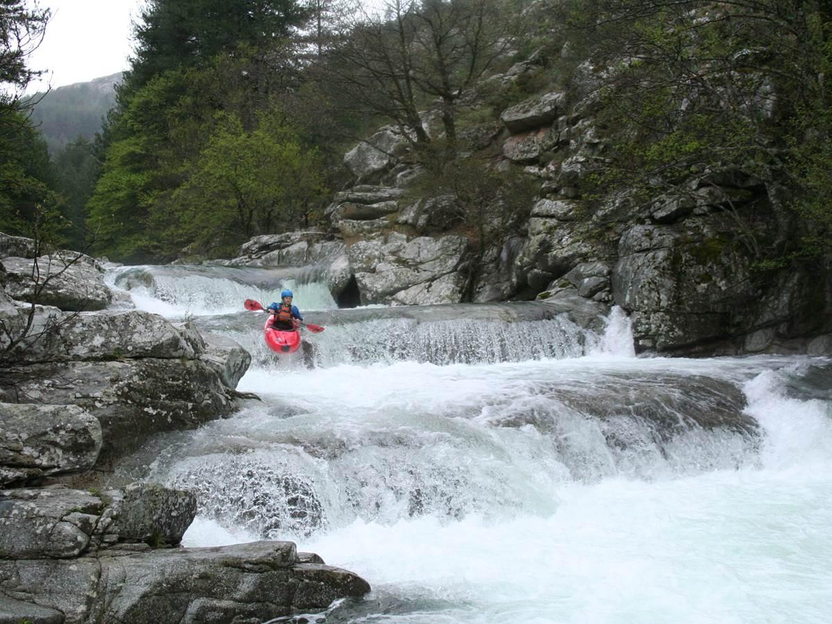 canoe kayak en rivière