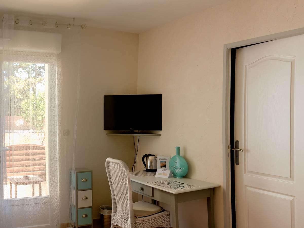 Grain de sable, chambre d'hôte avec terrasse Camargue