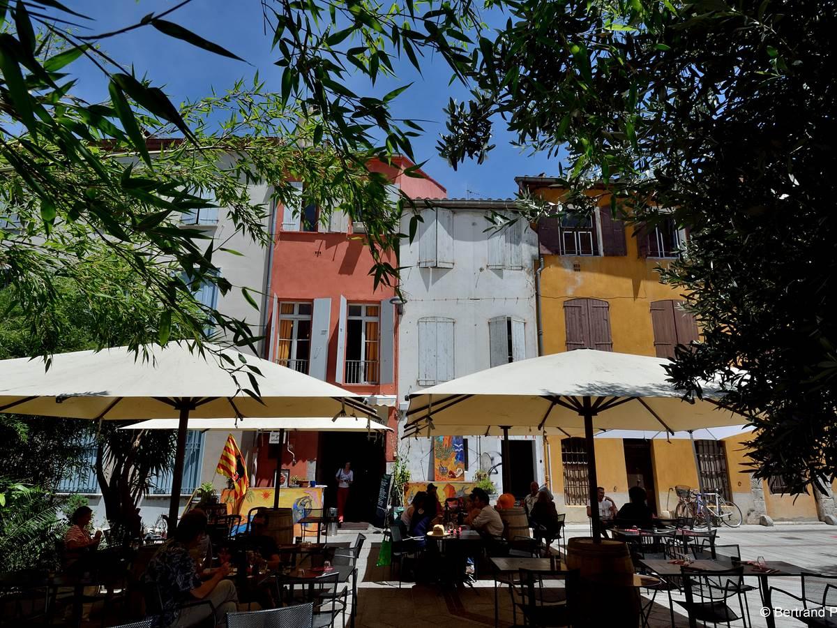 Place Jaubert de Passa -® Bertrand Pich+¿ne