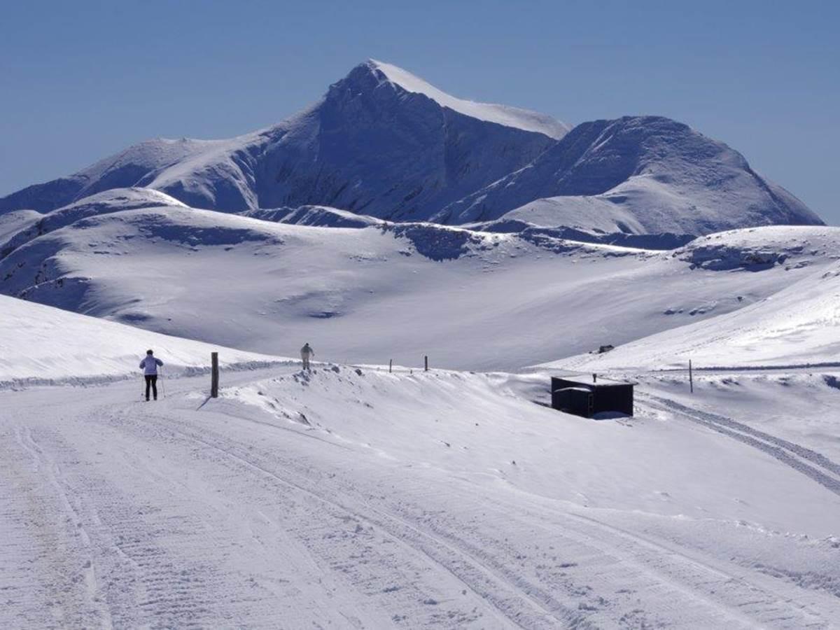 SKI de fond au pied du Pic d'Orhy, sommet du Pays Basque