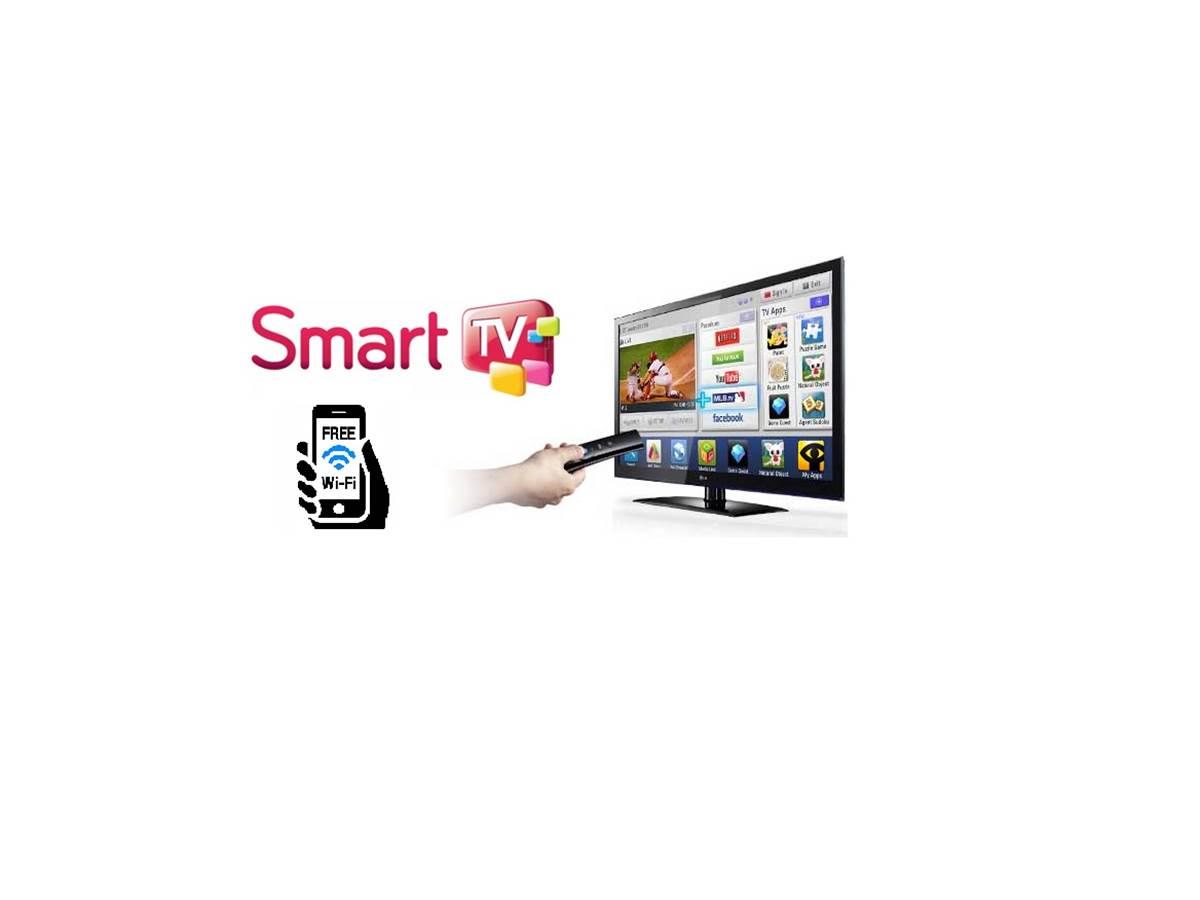 smart tv et free wifi smartphone