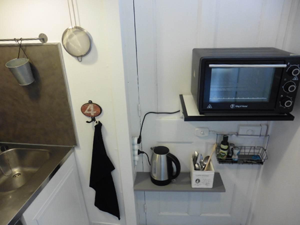 Maison et Chambre d'hôtes l'Ephémère à Limoges  Vue sur la cuisine