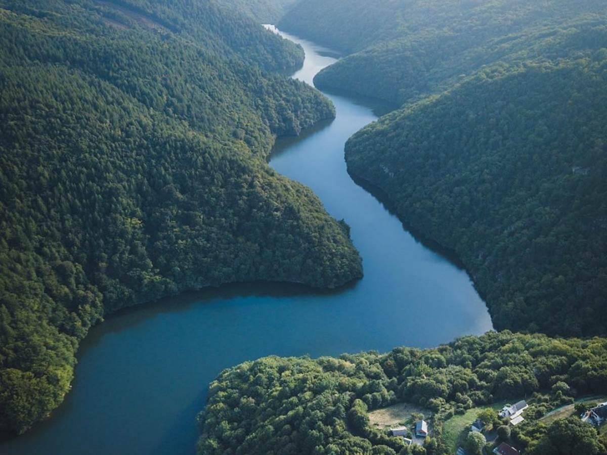 La Dordogne majestueuse et silencieuse