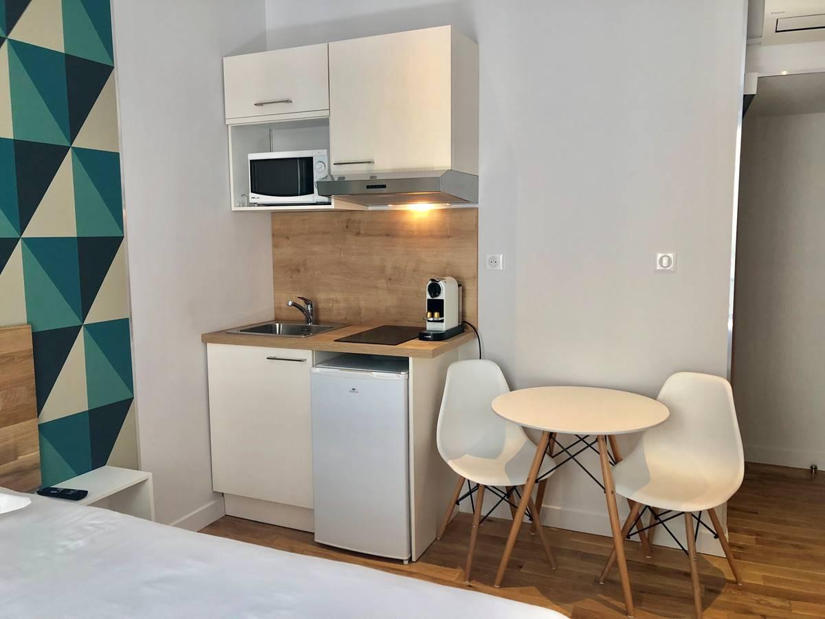 Studio équipé - cuisine Nice Home