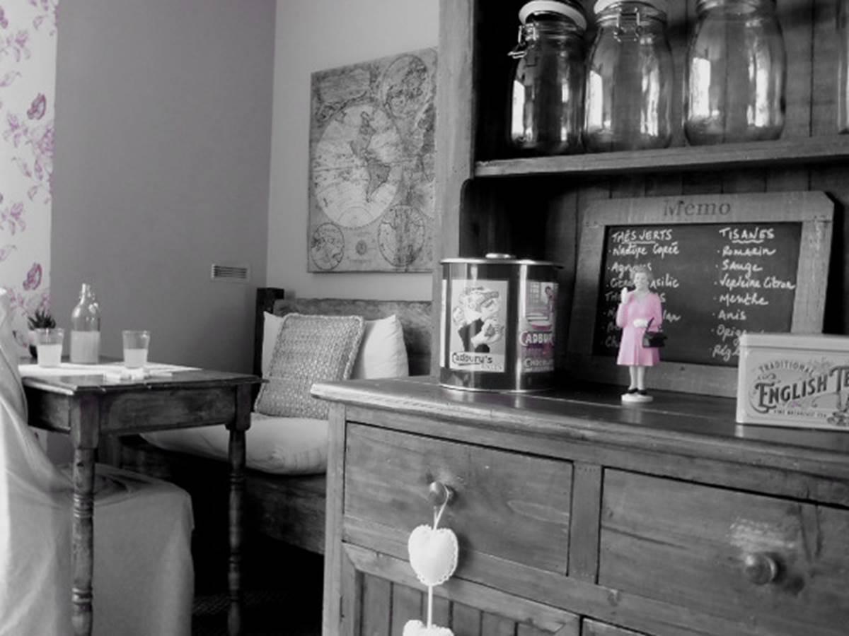 Le Salon de Thé de l'Éphémère   Le petit coin