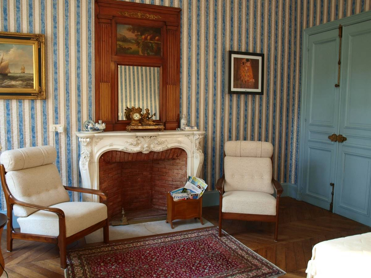Room Platane Fireplace