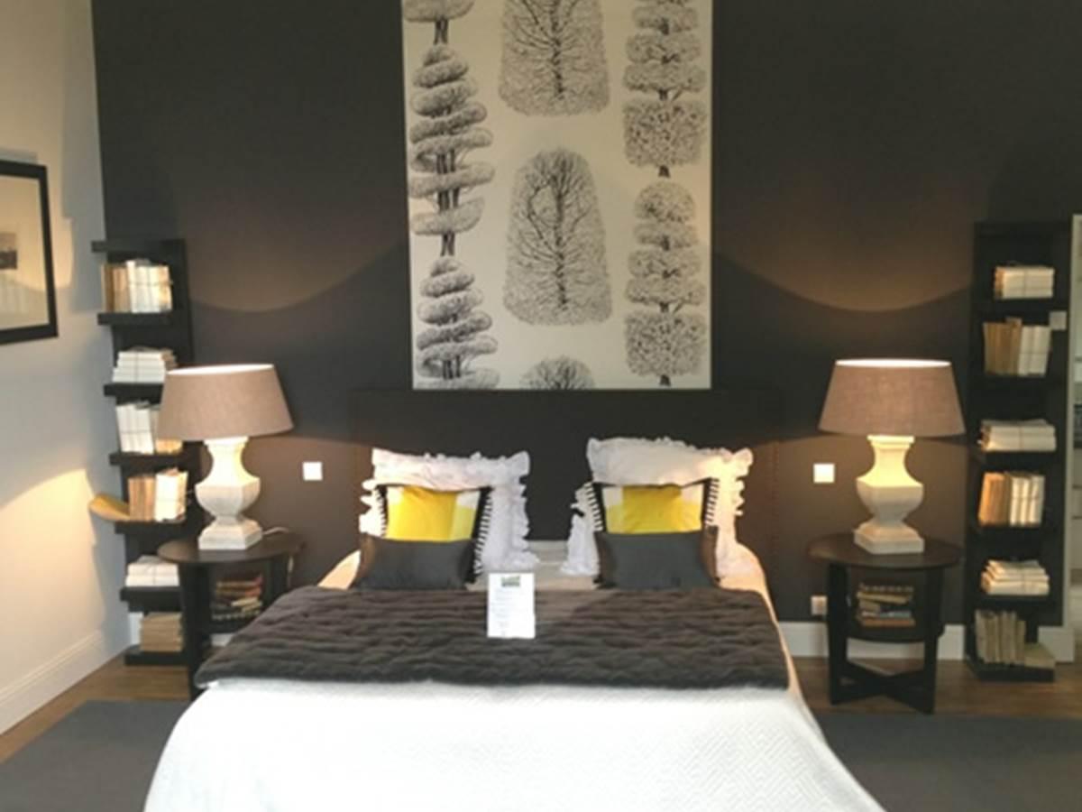 Chambre Jacinthe - le lit King Size
