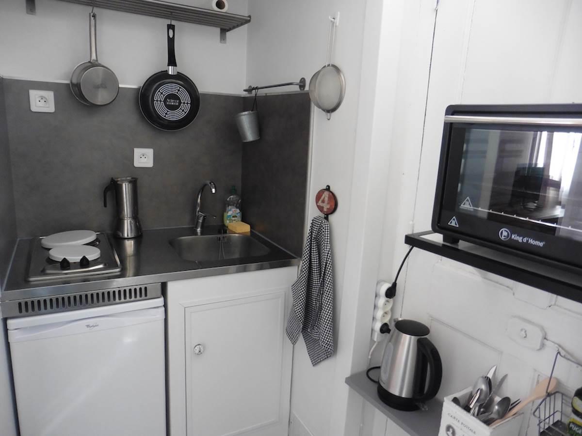 Maison d'hôtes l'éphémère à Limoges  cuisine