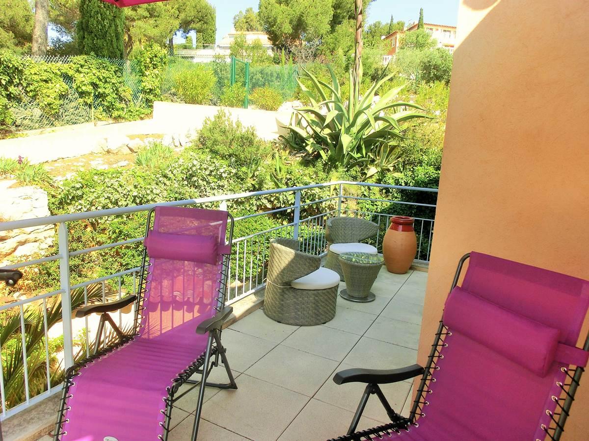 Terrasse Renecros Villa Azur Golf