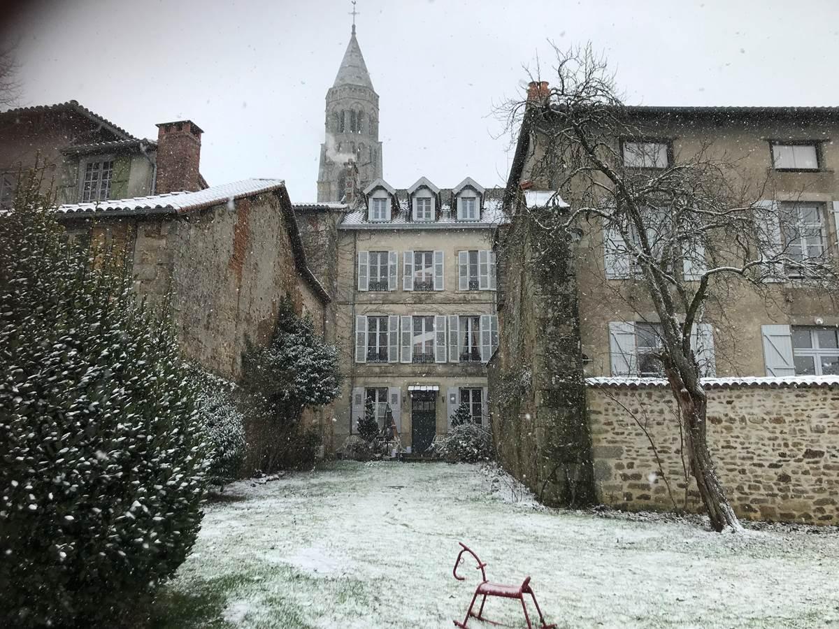 Le Jardin des Lys en hiver