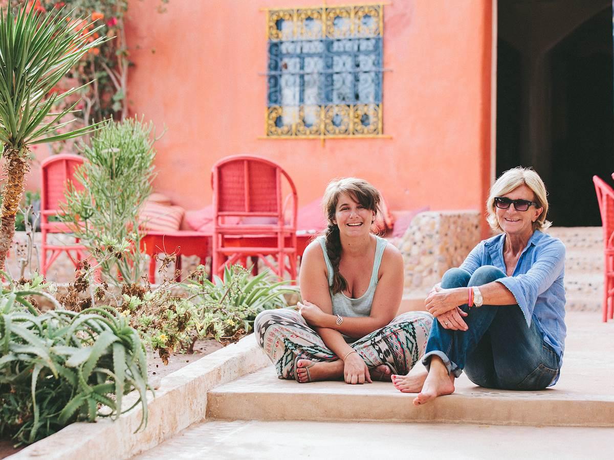 Dominique et Leah