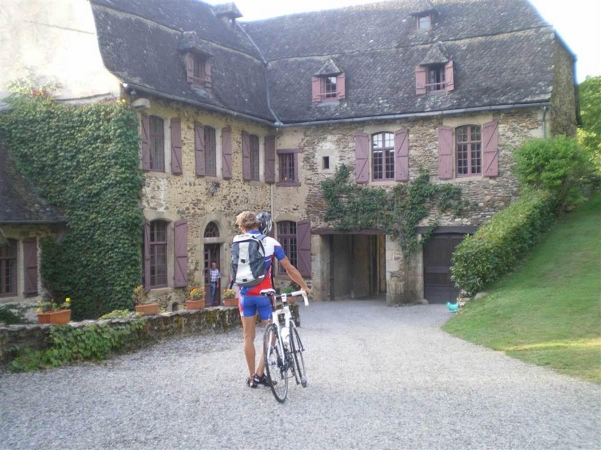 rando cycliste chambre dhotes en Corrèze