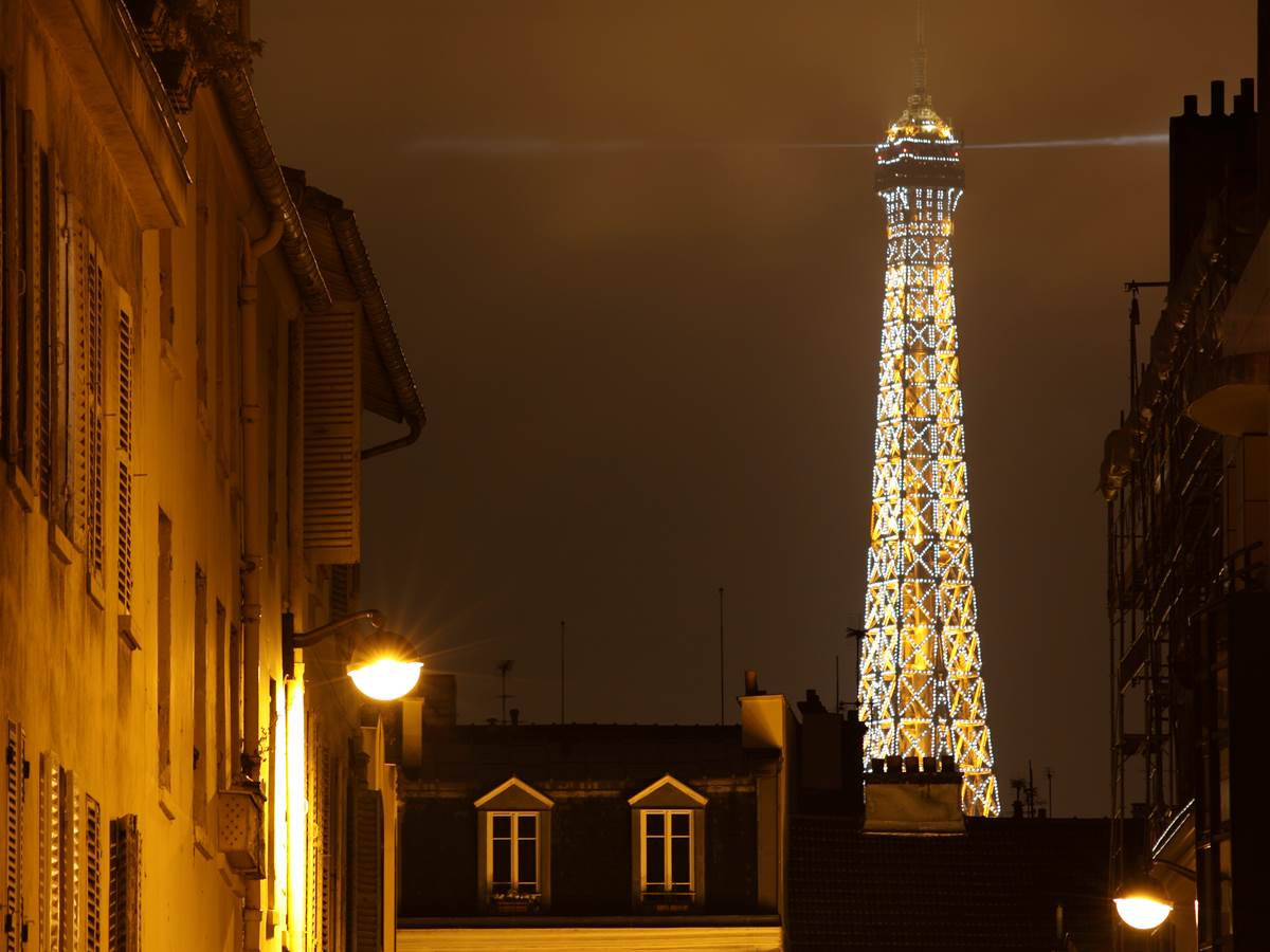 149697533 La tour Eiffel illuminée