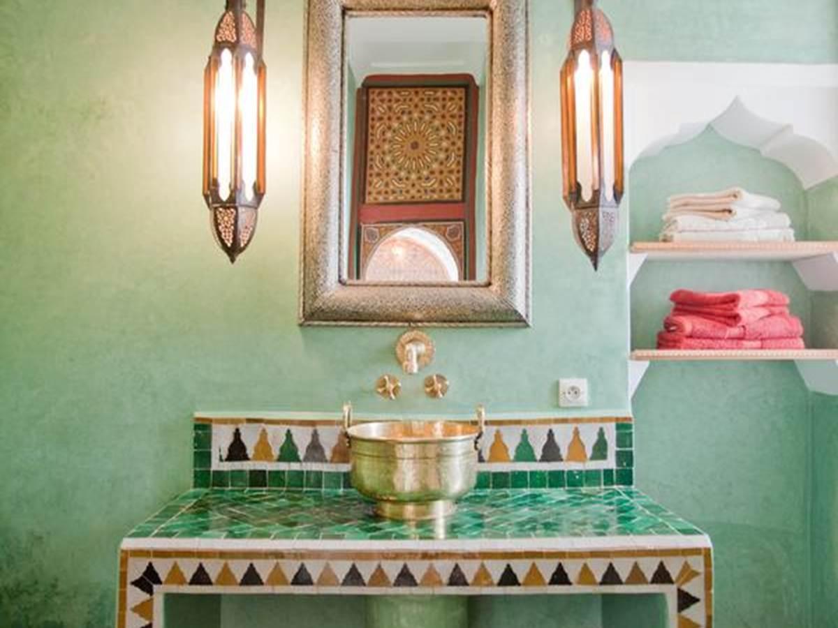 riad-zineb_salle de bain suite zineb