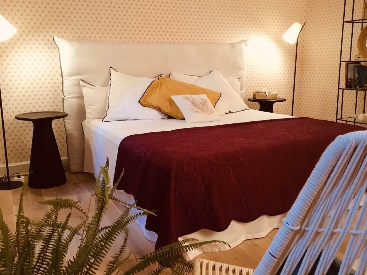 Suite Jardin Secret 2eme chambre supplémùentaire chambre-d-hote-lesmatinsrubis-tarn-et-garonne-occitanie-location-toulouse
