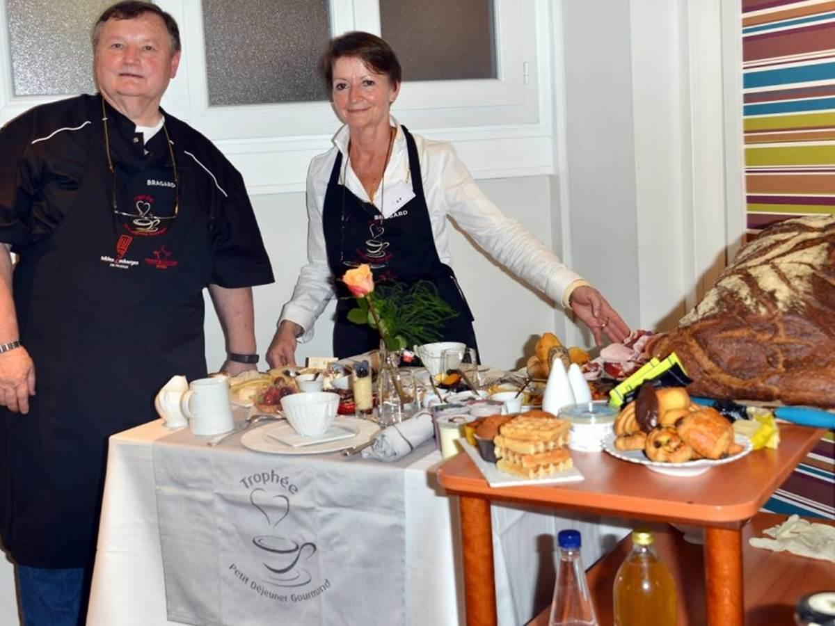 Jules et Françoise au Trophée du Petit déjeuner gourmand 2017 crédit photo LNPhotographers