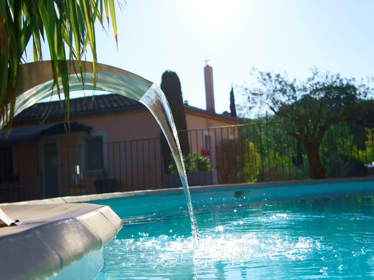 piscine hôtel résidence les peupliers