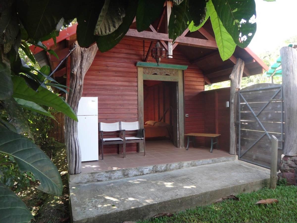 Extérieur bungalow griotte