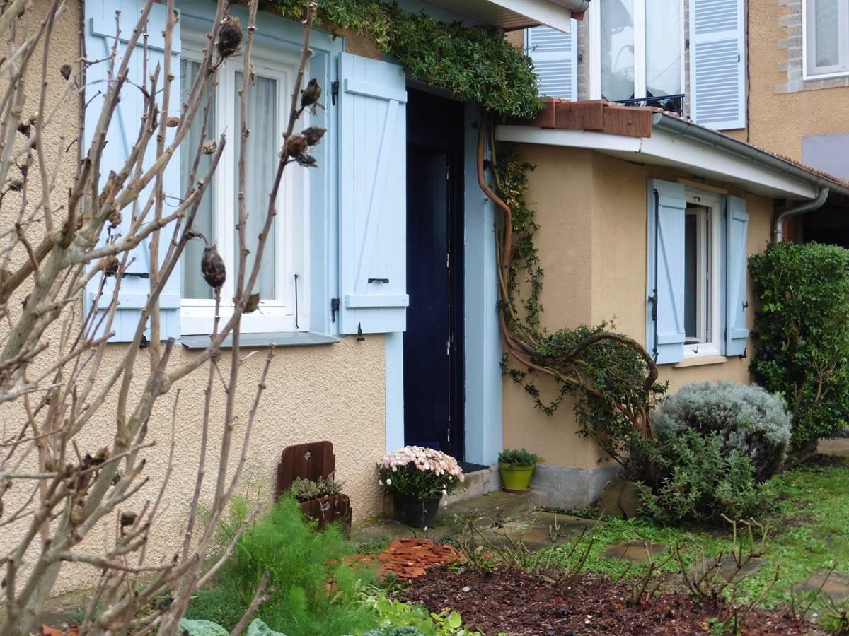 L'entrée de la Maison d'hôtes l'Ephémère - Limoges