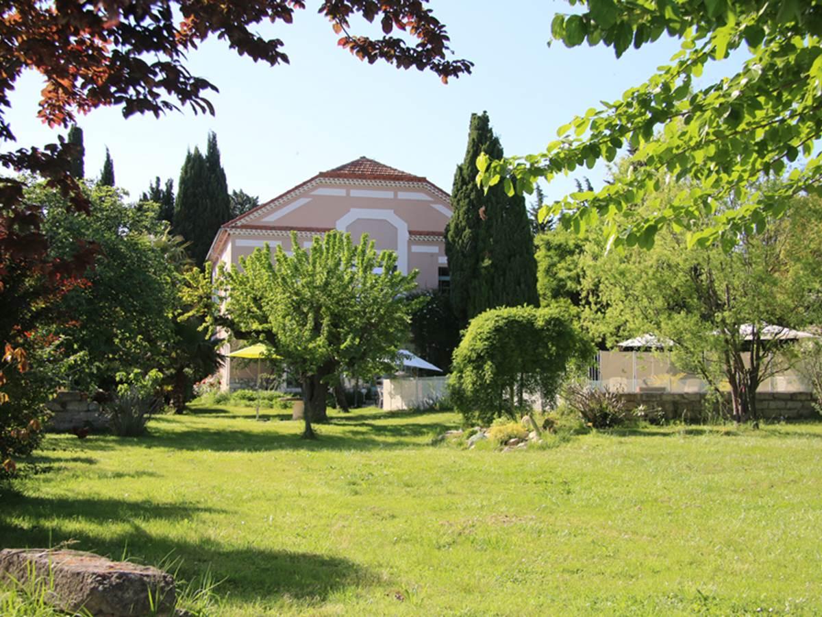 Jardin de la Villa Hanna