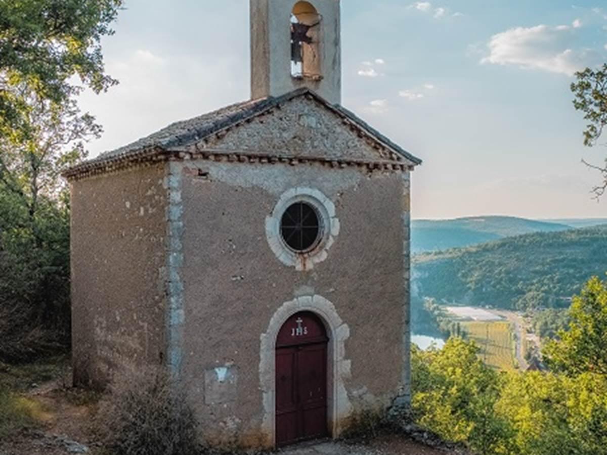 Chapelle Sainte-Croix, Saint-Cirq-Lapopie Lot Tourisme - Teddy Verneuil 191014-151145