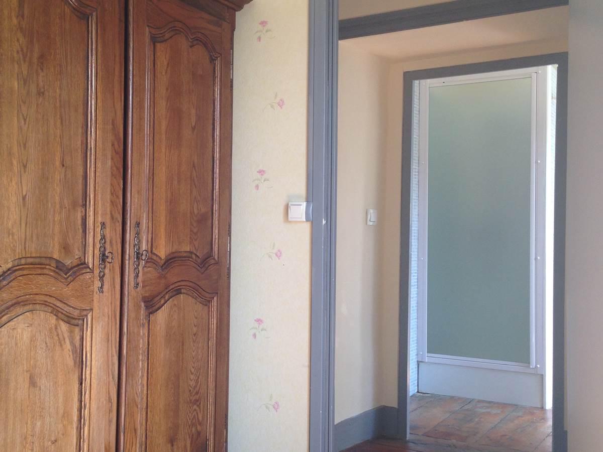 Chambre Le Potager,  accès salle de bain (Seconde chambre)