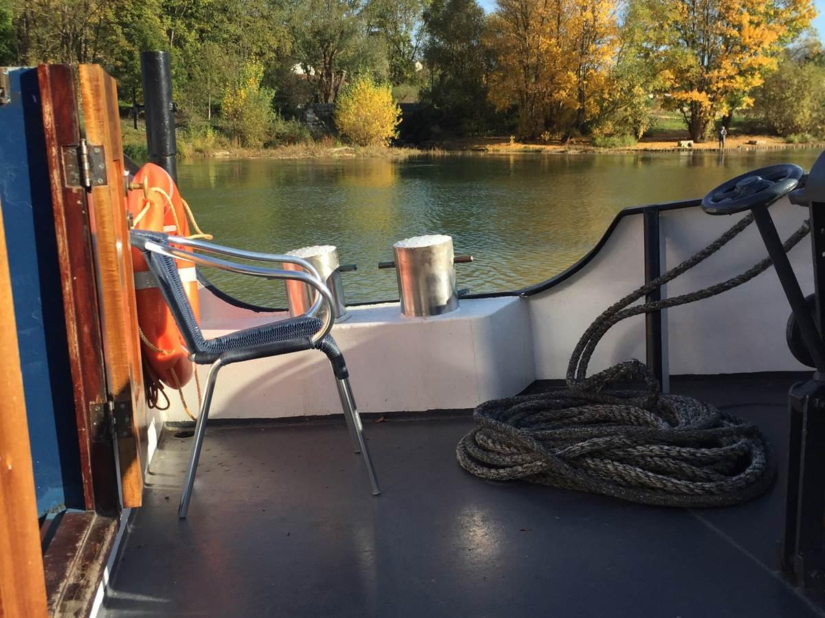 En croisière sur la Saône