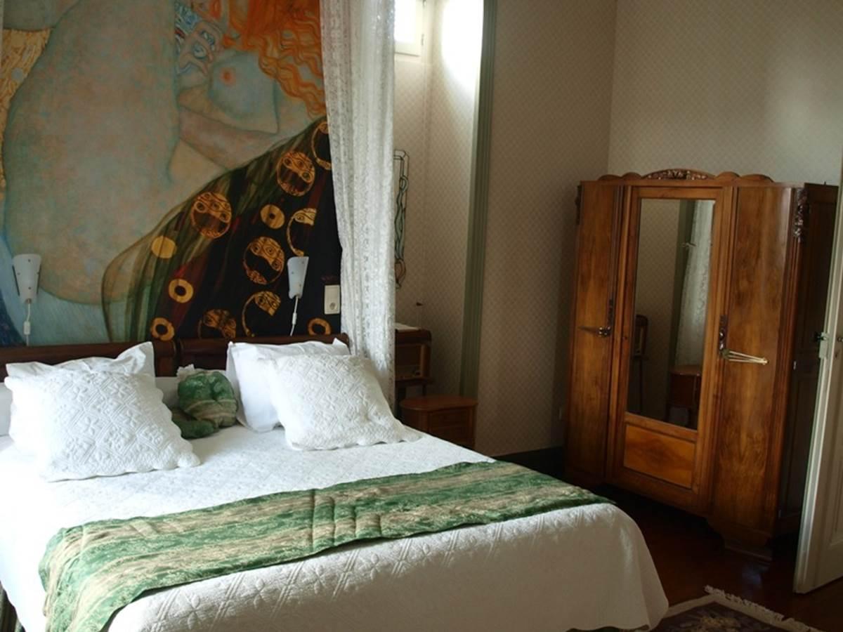 Chambre Marronnier, lit, plaquard