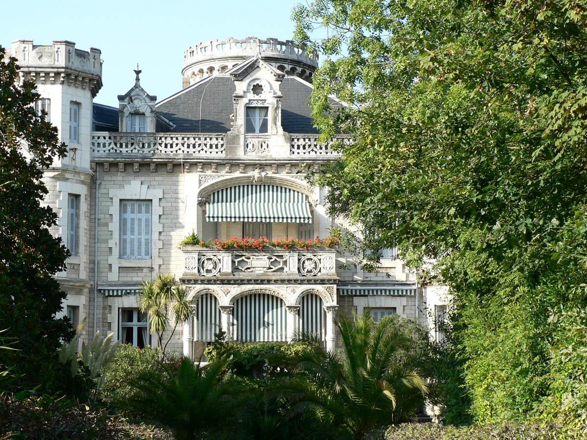 La villa Cambarre à Biarritz
