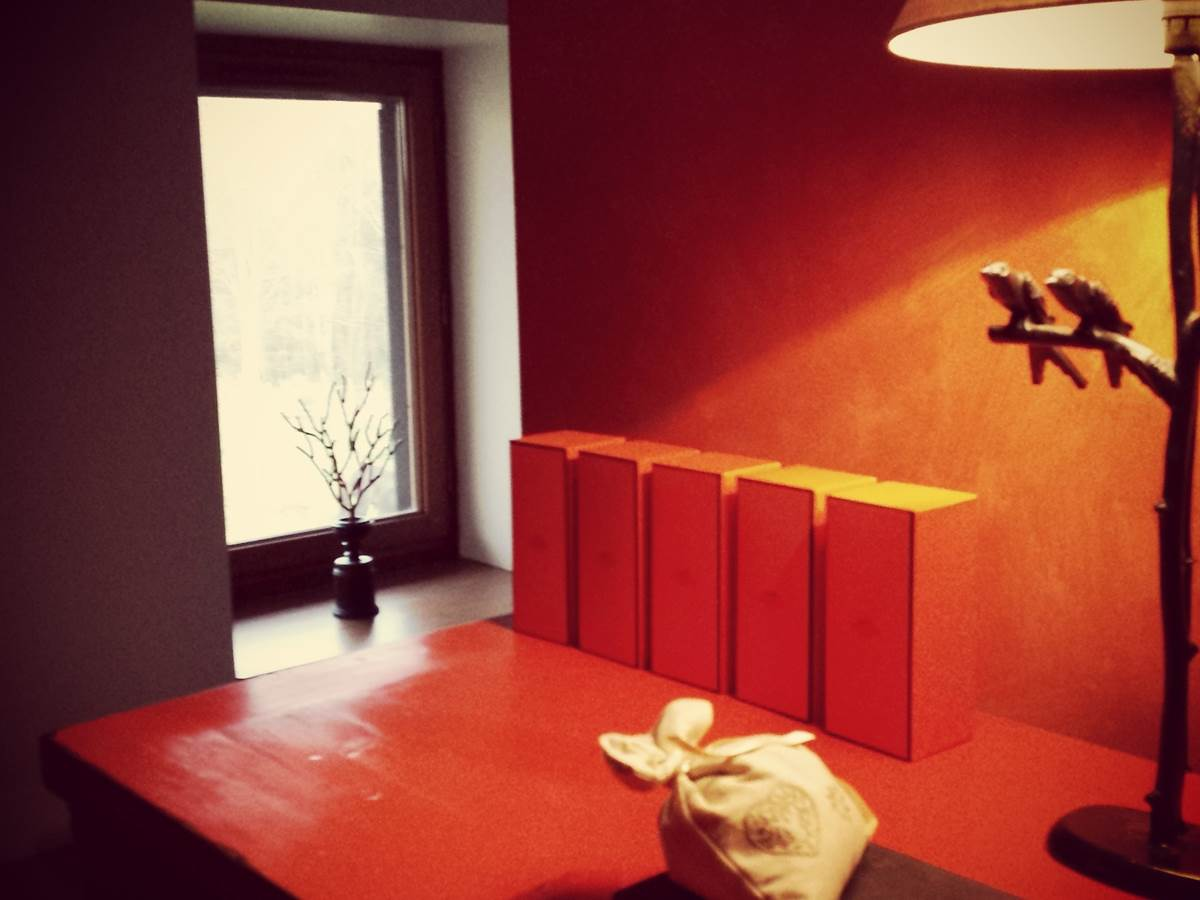 Chevet chinois Chambre Hermes Lampe Perruches Lieux