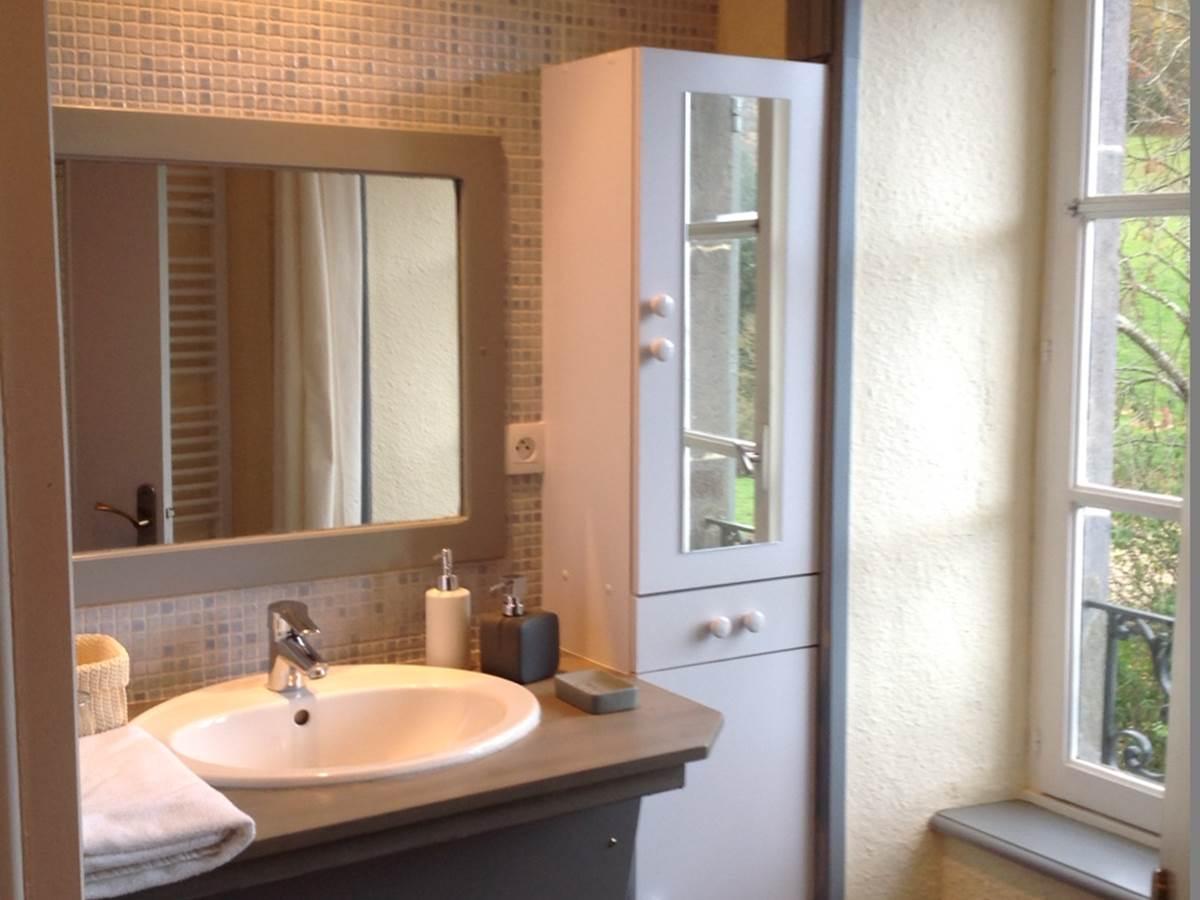 Chambre Le Potager,  salle de bain