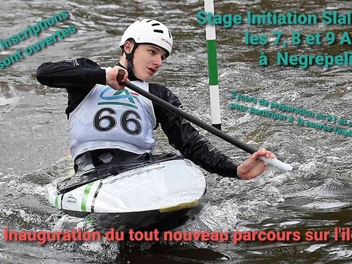 Stage kayak avril
