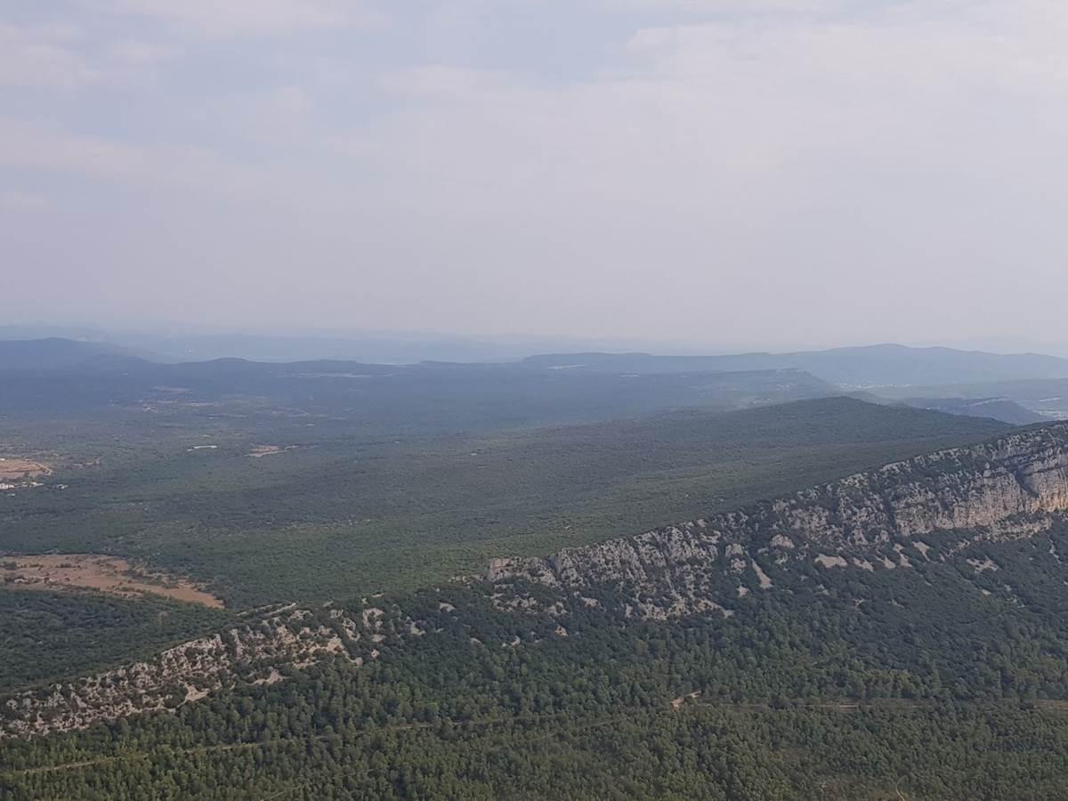 L'Hortus vue depuis le Pic Saint Loup