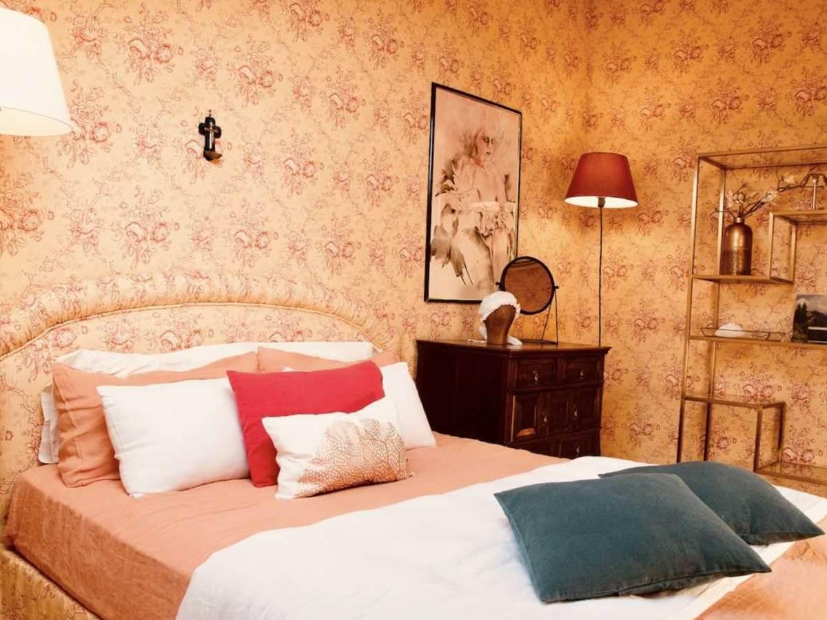 Suite jardin secrets Chambre principale chambre-d-hote-lesmatinsrubis-tarn-et-garonne-occitanie-location-toulouse