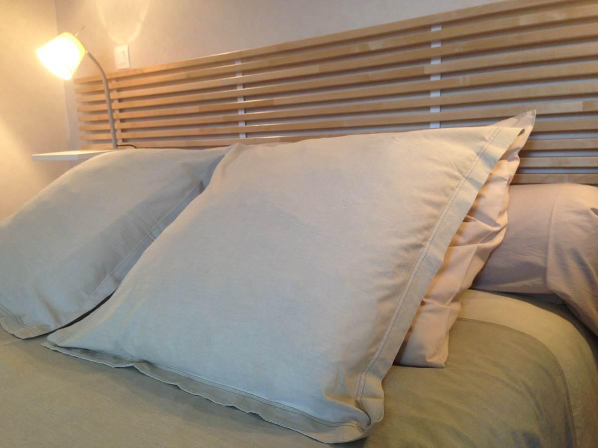 Chambre Le Potager, tête de lit