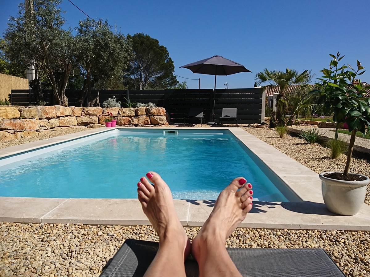 chambres d'hôtes piscine Flayosc Var Provence soleil week end en amoureux