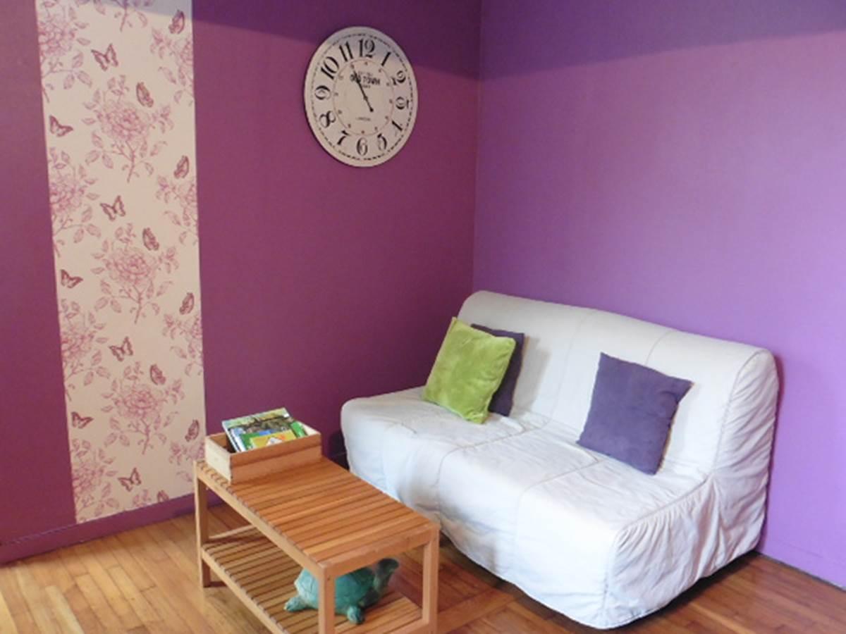Maison et Chambre d'hôtes l'Ephémère à Limoges  l'espace salon