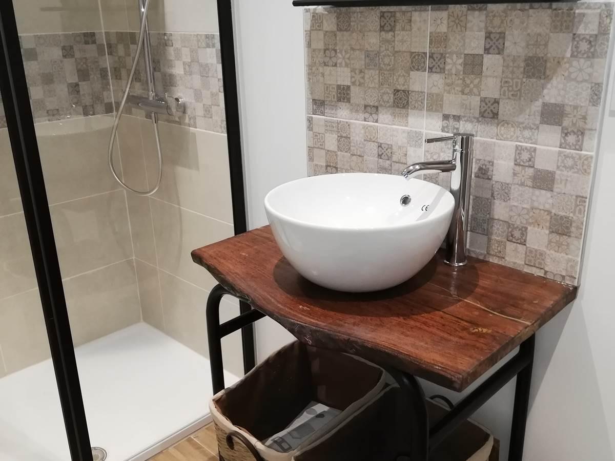 salle de bain privative 1°étage