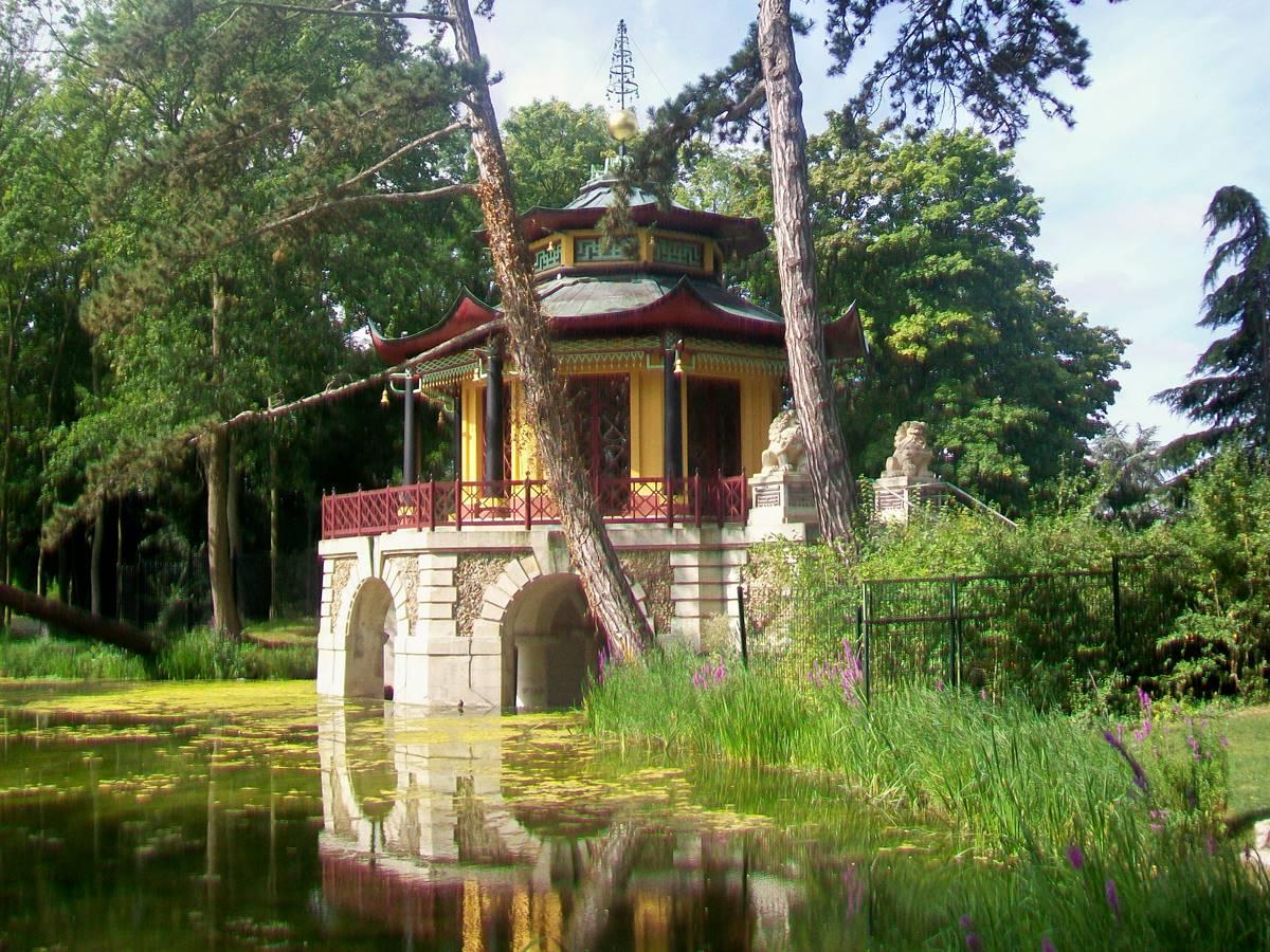 L'Isle-Adam le pavillon chinois