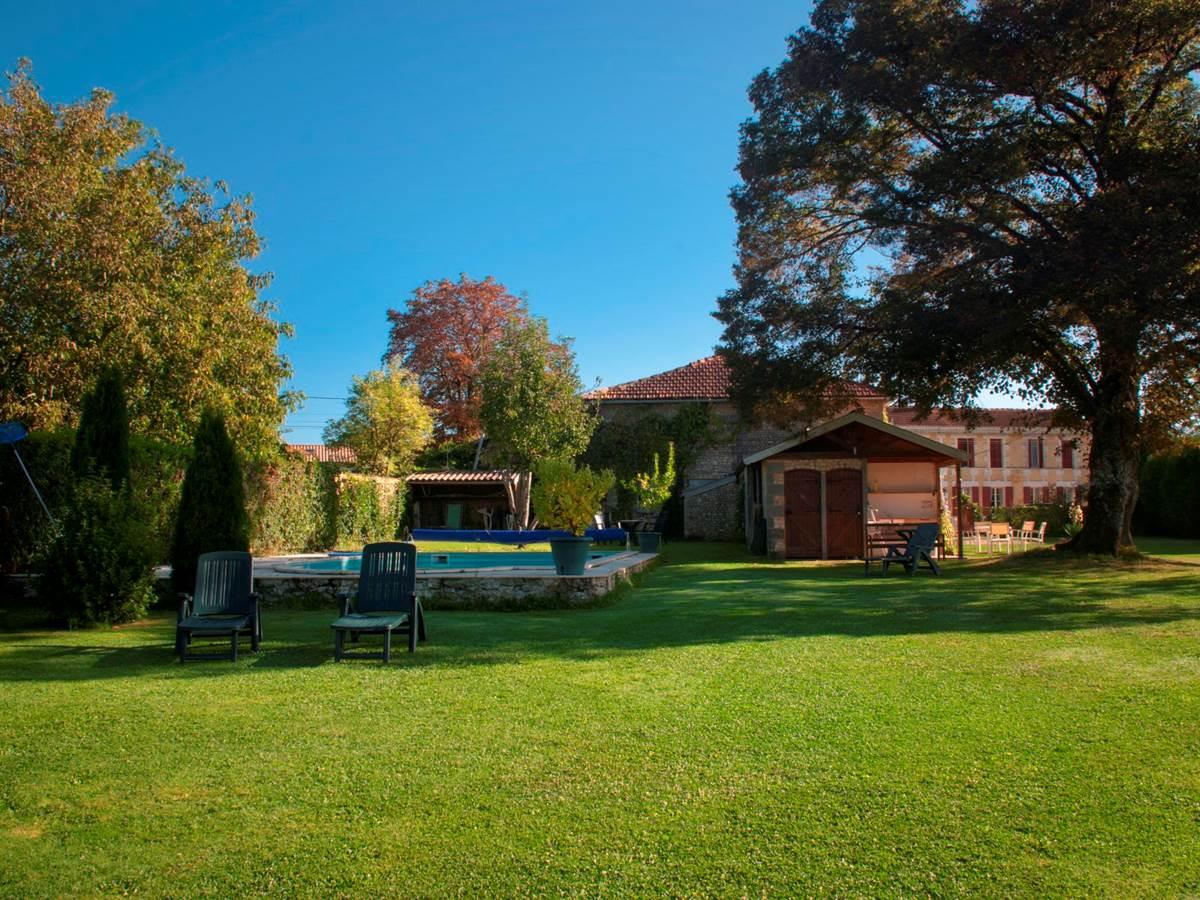 piscine, La Rose, atelier et maison