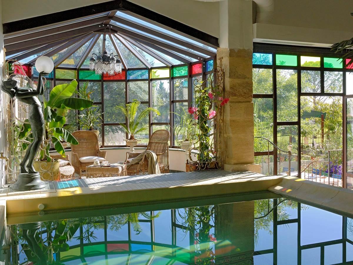 piscine inte´rieure