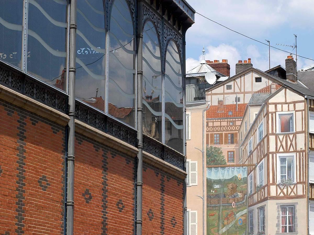 Limoges quartier Les halles