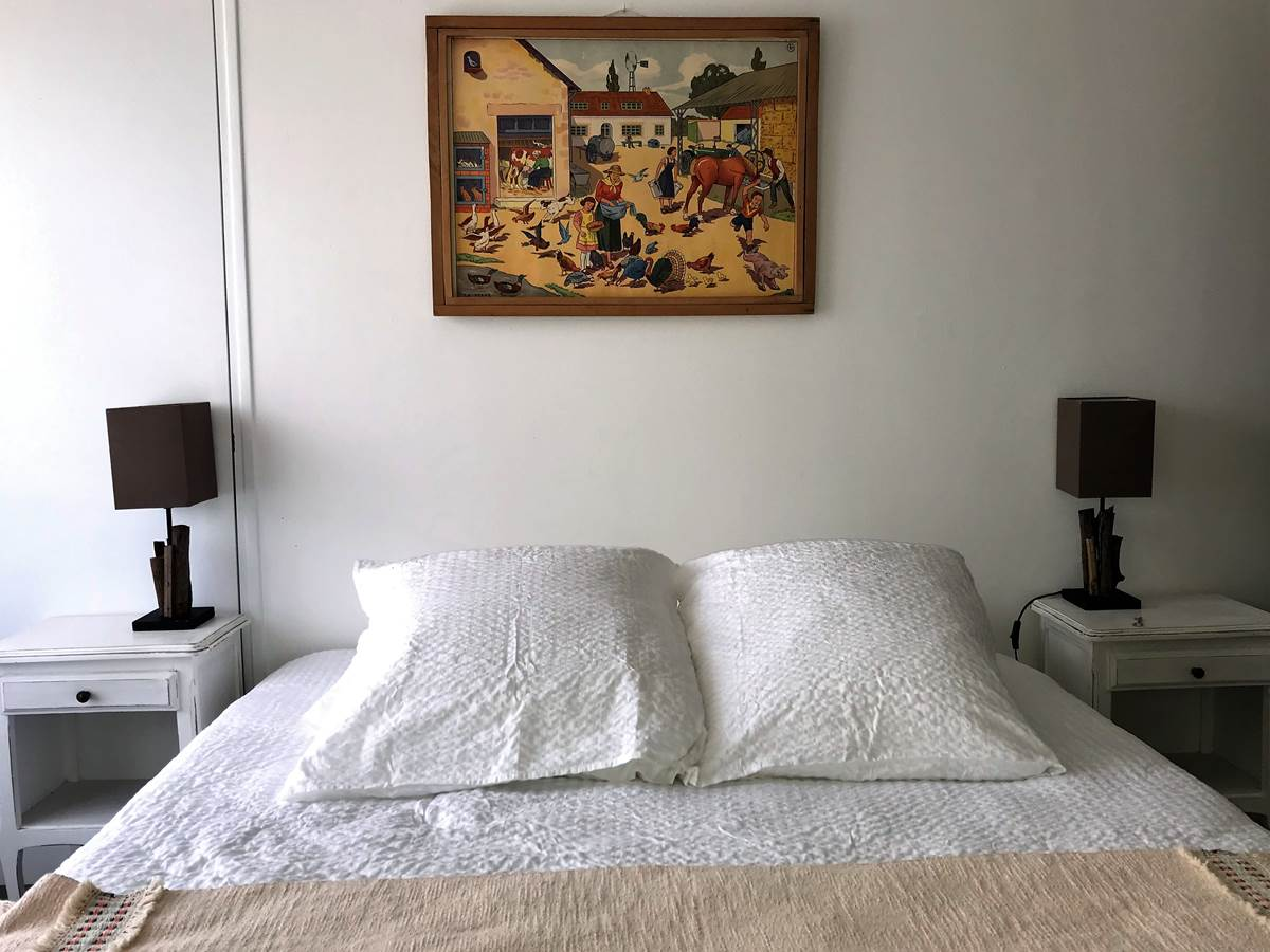 Chambre Mont Serein  Lit en 160x200