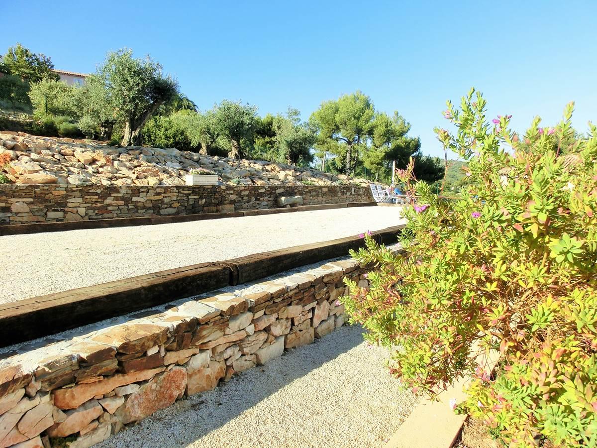 Terrain de pétanque Villa Azur Golf