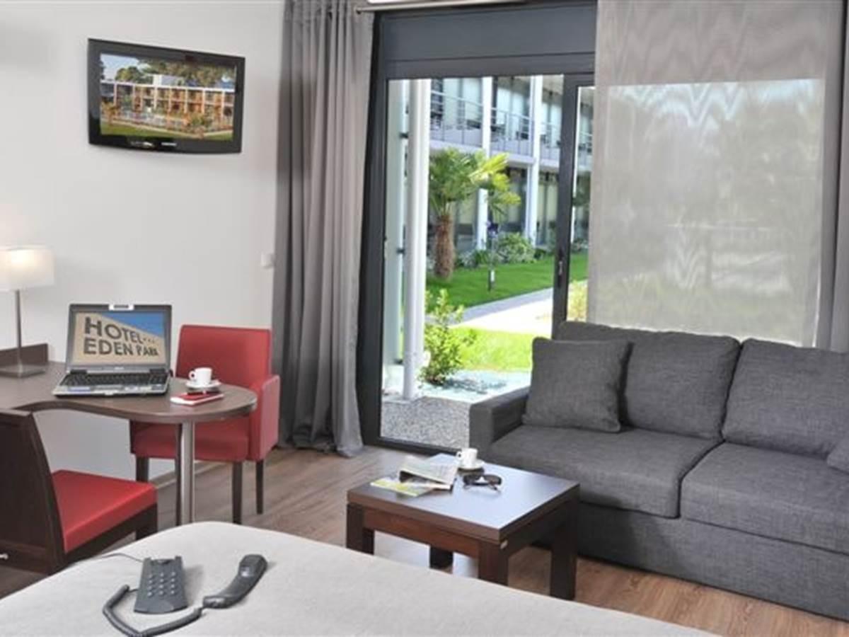 Hotel Eden Park Pau-Bizanos Chambre double hotel