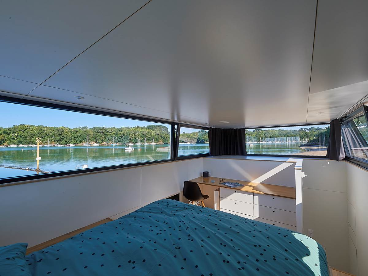 Cabine parentale - Lodge Boat Guidel