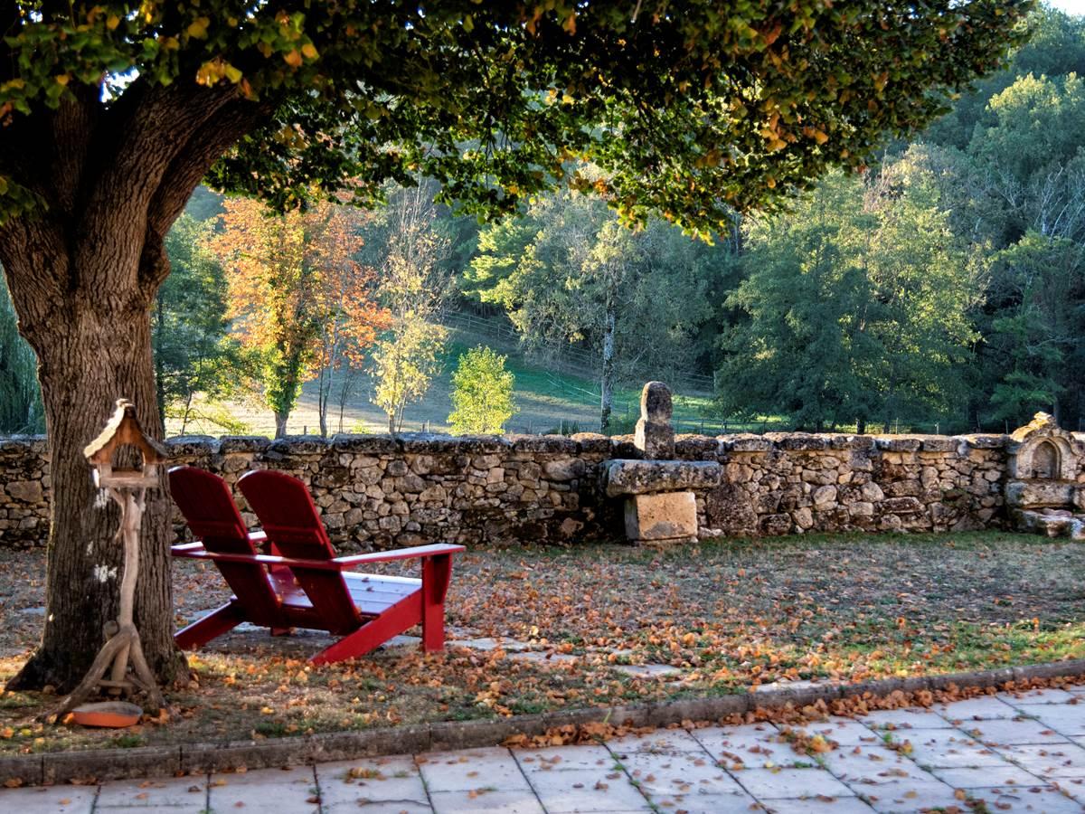 Jardin et Terrasse Cour Fermée