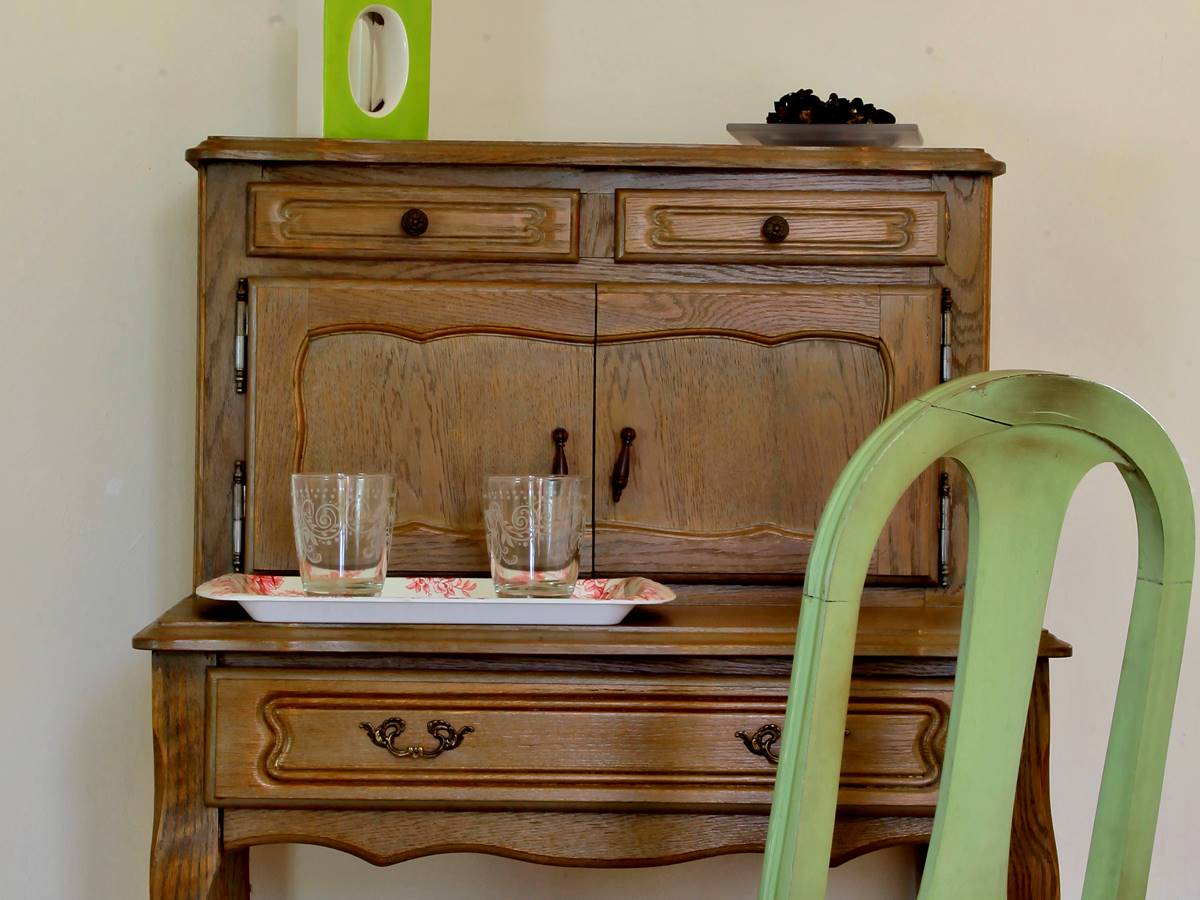 Détail de la chambre Beynac en Dordogne